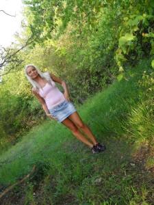 28-Jährige will im Freien poppen